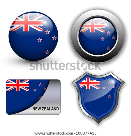 new zealand flag icons theme