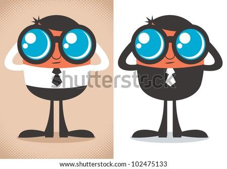 watcher  cartoon character