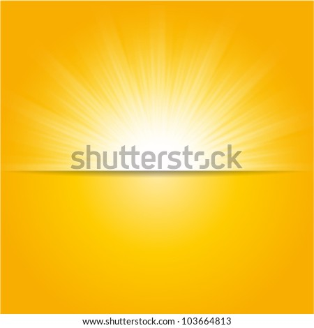 shiny sun vector  sunbeams