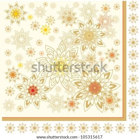 shawl floral pattern