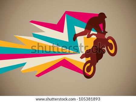 extreme motorcycling poster