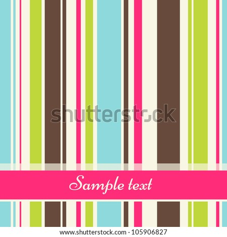 vector vintage striped abstract