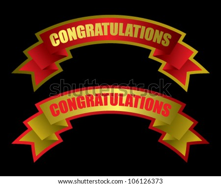 Congratulations Banner Free Vector Download (7,818 Free Vector