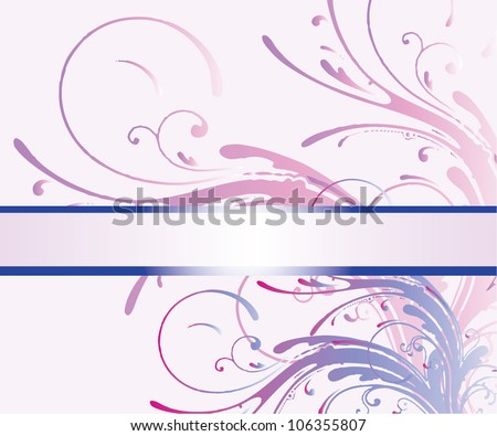 abstract background with place