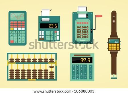 cute calculators  adding