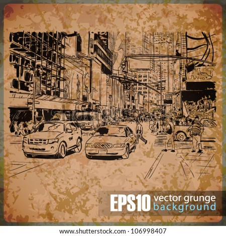 eps10 vintage background with