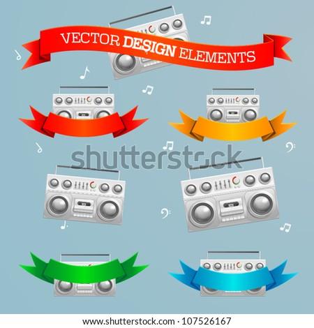 vector design element set