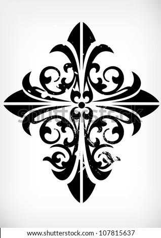traditional pattern  cross
