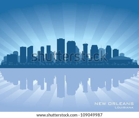 new orleans  louisiana skyline