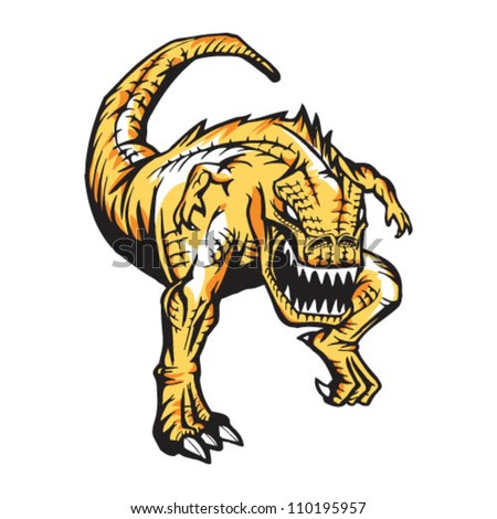 charging t rex