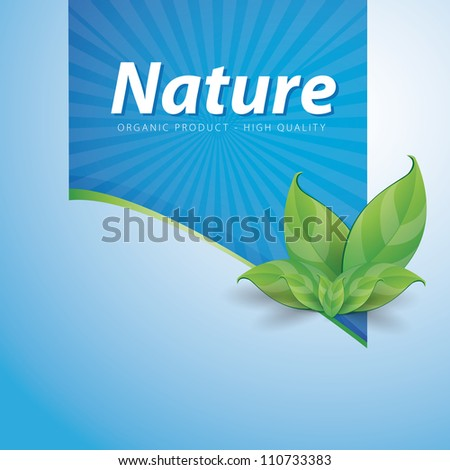nature ribbon high quality on