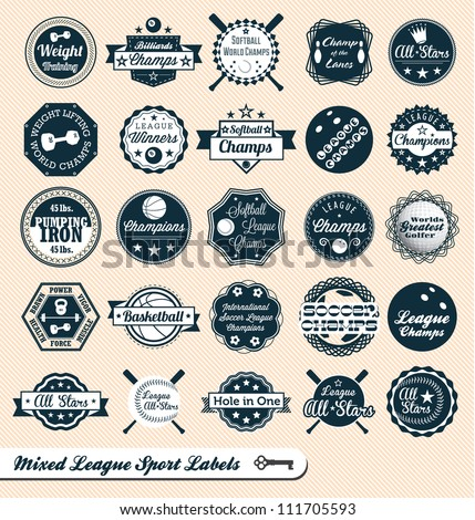 vector set  vintage mixed