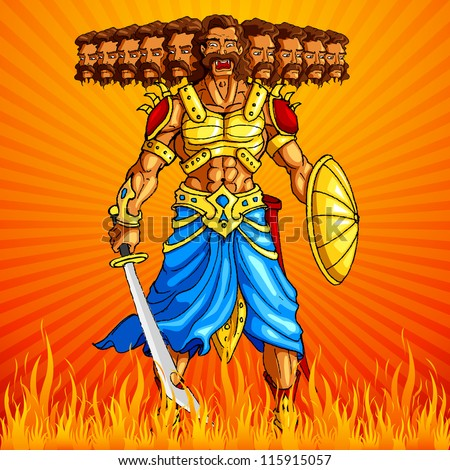 Ravana Free Vector Download 5 Free Vector For Commercial Use