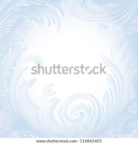 white vector frame background