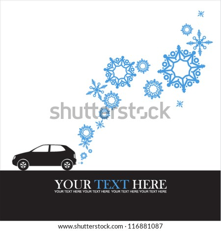 abstract vector illustration of