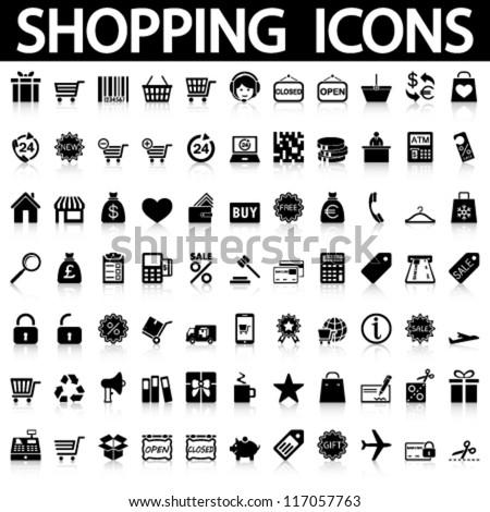 stock-vector-shopping-icons-set-vector