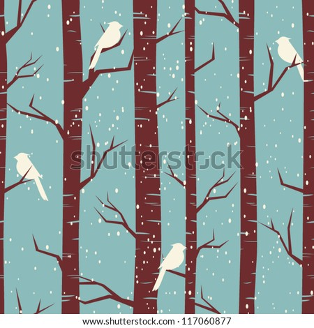 seamless tiling pattern with