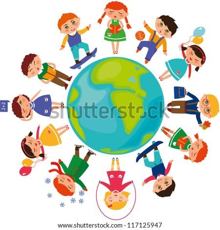 cute children around the world