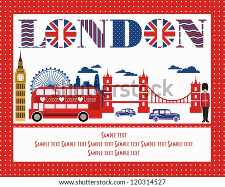 london card design vector