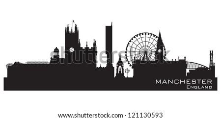 manchester  england skyline