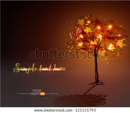 vector  black background with a