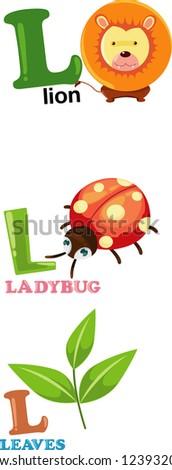animal alphabet letter   l jpg