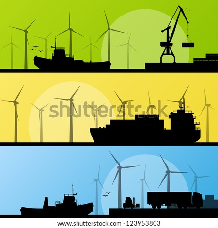wind electricity generators and