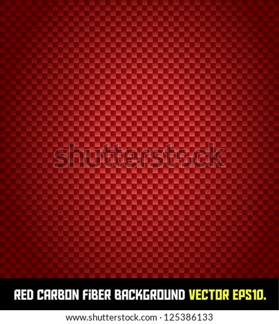 red carbon fiber background
