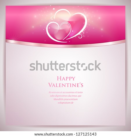 vector card template with