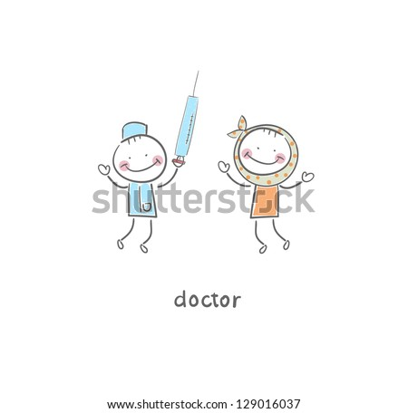 doctor and patient