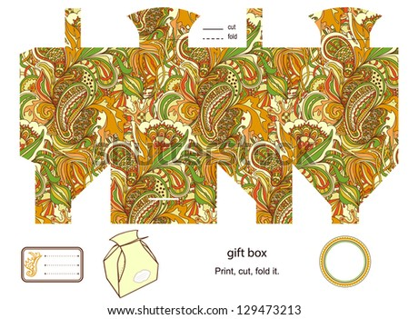 Vector favor box free vector download 2978 Free vector for – Gift Box Templates Free Download
