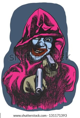 psycho killer     an hand