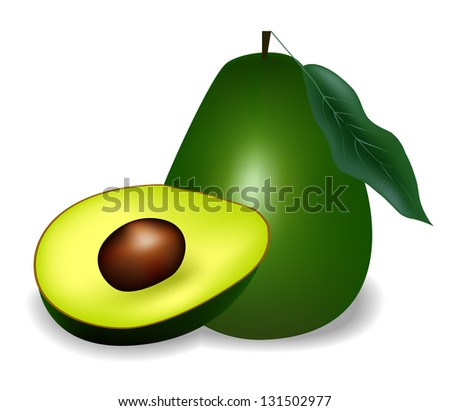 avocado its a raster version