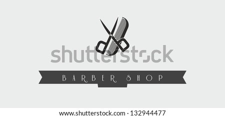 vector haircut symbols