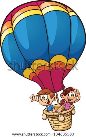 Hot air balloon cartoon free vector download (15,157 Free vector ...