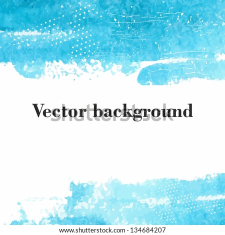 vector watercolor background