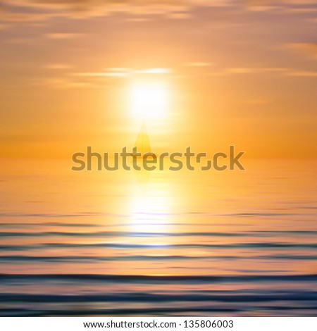 abstract background with sea