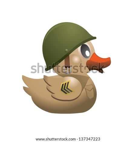 military duck