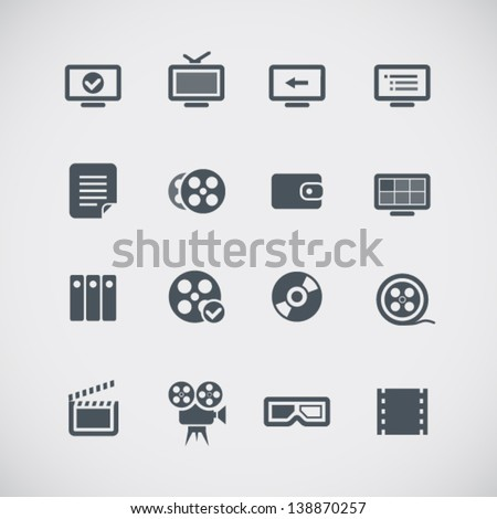cinema web silhouettes
