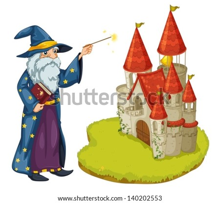 illustration of a wizard