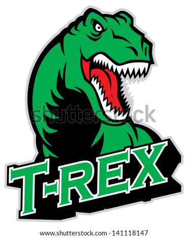 t rex mascot
