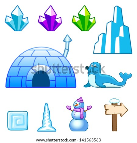 ice world assets