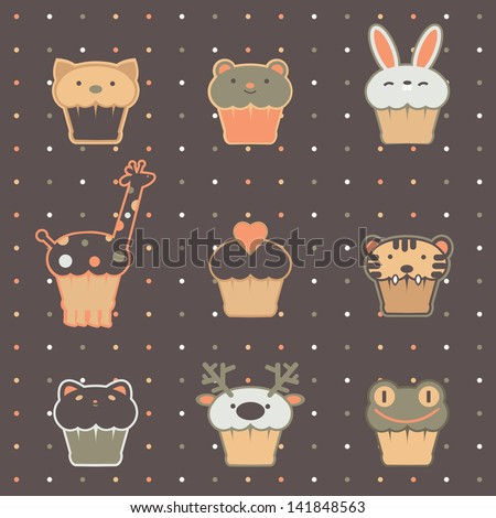 zoo cakes pattern