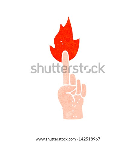 pointing magic finger symbol