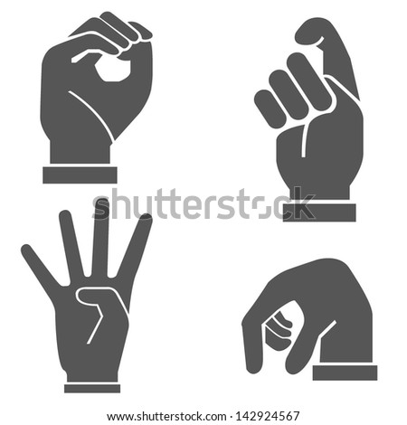 hand set  hand sign
