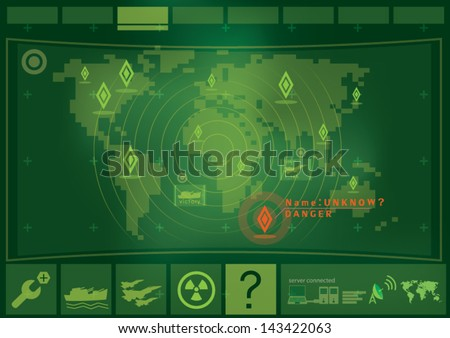 war game interface technology