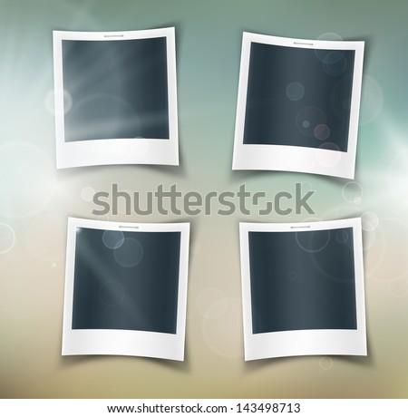 four square photos eps 10