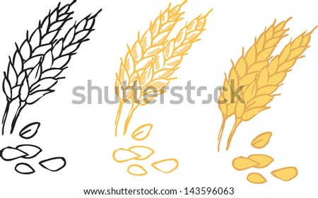 Wheat sheaf clip art free vector download (210,233 Free vector ...