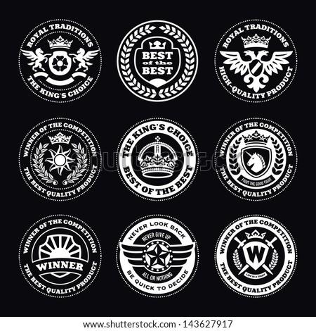 heraldic elements  insignia