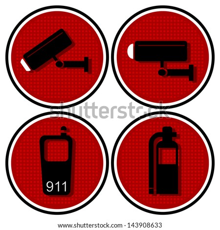 security apparatus  symbols